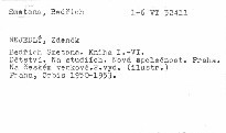Bedřich Smetana                         (Kniha první)