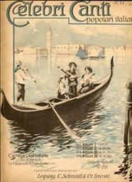 Celebri canti popolari italiani                         (Album I,)