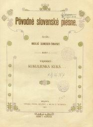 Povodné slovenské piesne