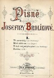 Písně Josefiny Brdlíkové                         (I.)