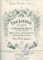 4 Lieder, op. 124. č.1