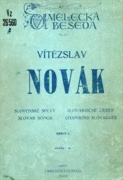 Slovenské spevy                         (Sešit I.)