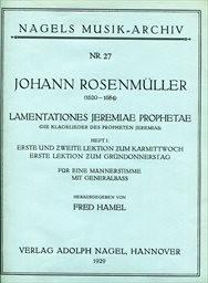 Lamentationes Jeremiae Prophetae
