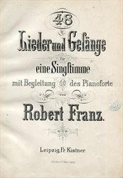 48 Lieder und Gesänge                         (Band I.)