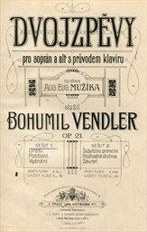 Dvojzpěvy, op. 21