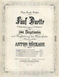 Fünf Duette                         (No. 1)
