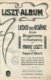 Liszt-Album                         (Band I.)
