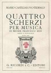 4 scherzi per musica di Francesco Redi