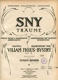 Sny, op.8