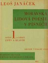 Moravská lidová poesie v písních                         (Sešit 1)