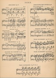 Klavier-Werke