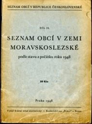 Seznam obcí v zemi české podle stavu z počátku roku 1948