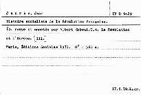 Histoire socialiste de la Révolution francaise                         (Tome 4)
