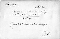 Bulletin de la bibliotheque et des travaux histori