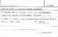 Istorija sovetskoj mnogonacionalnoj litěratury