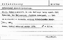 Středočeský sborník historický                         ([Sv.] 11)