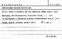 Středočeský sborník historický                         (Sv. 12)
