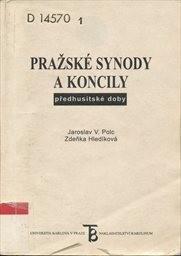 Pražské synody a koncily předhusitské doby