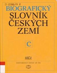 Biografický slovník českých zemí                         (IX. sešit,)