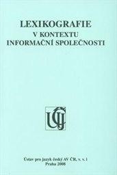 Lexikografie v kontextu informační společnosti