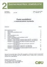 České zemědělství v mezinárodním kontextu