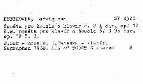 Sonatas for violin and piano, op. 12/2, 12/3