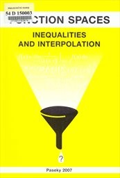 Function Spaces, Inequalities and Interpolation