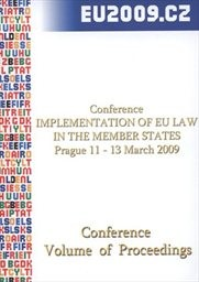 Implementation of EU law in the member states
