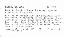 Roberta Flack, Donny Hathaway