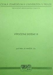 Výpočetní systémy III