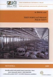 Testy populací prasat - polní testy