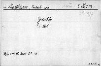 Fridrich von Matthisson's Gedichte                         (Erster Theil)