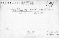 Sibyllinische Bücher aus Oestreich