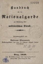 Handbuch für die Nationalgarde zur Belehrung über militärischen Dienst
