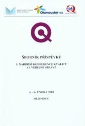Sborník příspěvků 5. Národní konference kvality ve veřejné správě
