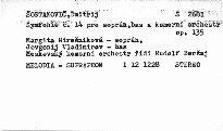 Symfonie č. 14, op. 135