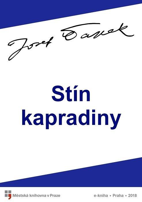 Stín kapradiny                          , Čapek, Josef