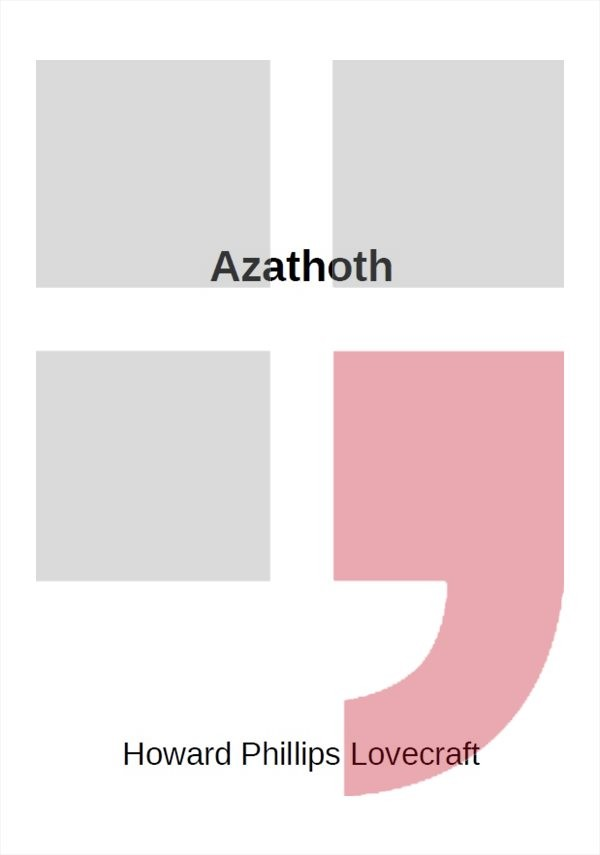 Azathoth                                , Lovecraft, H. P.