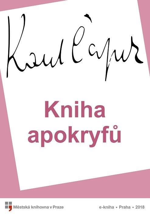 Kniha apokryfů                          , Čapek, Karel