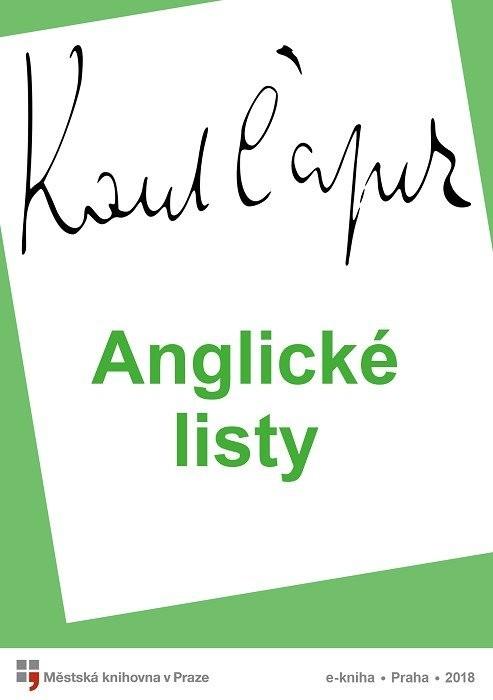 Anglické listy                          , Čapek, Karel