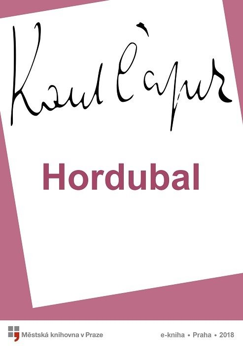 Hordubal                                , Čapek, Karel