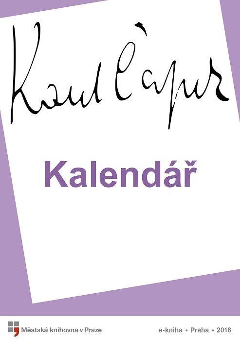 Kalendář                                , Čapek, Karel