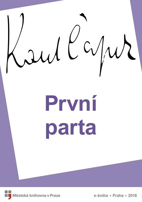 První parta                             , Čapek, Karel
