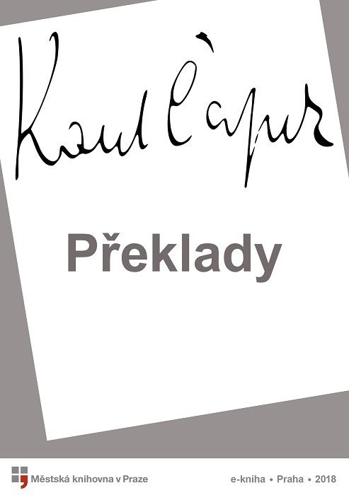 Překlady                                , Apollinaire, Guillaume