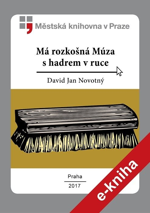 Má rozkošná Múza s hadrem v ruce        , Novotný, David Jan