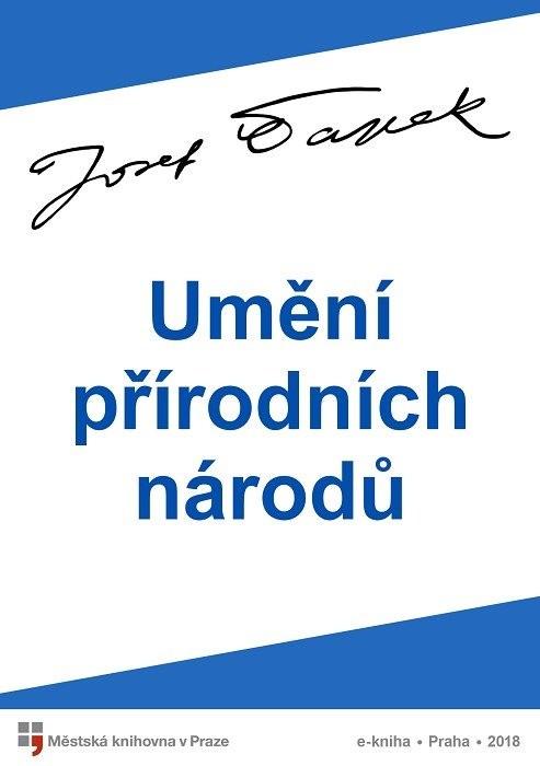 Umění přírodních národů                 , Čapek, Josef